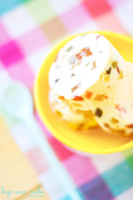 cómo hacer helados con base de crema inglesa helado de tutti frutti 8