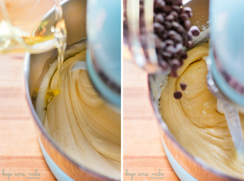 bizcocho de crème fraîche