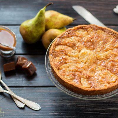Tarta de Pera y Caramelo: Qué Rico mamá