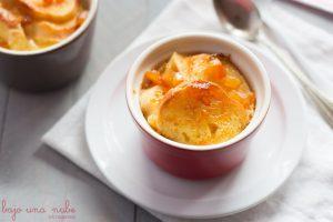 Pudin de pan y mantequilla a la naranja