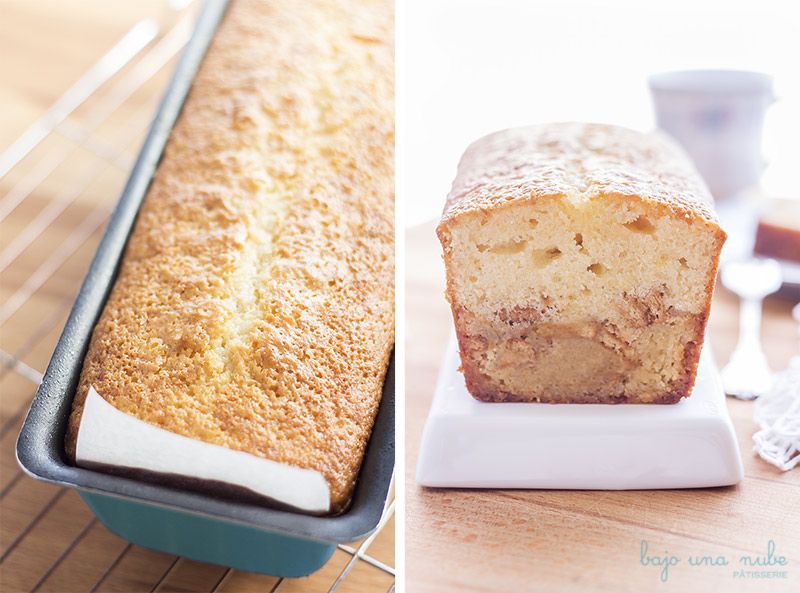 blondie cake de limon