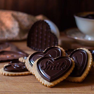 Galletas maría caseras + chocolatinas = Petits écoliers caseros