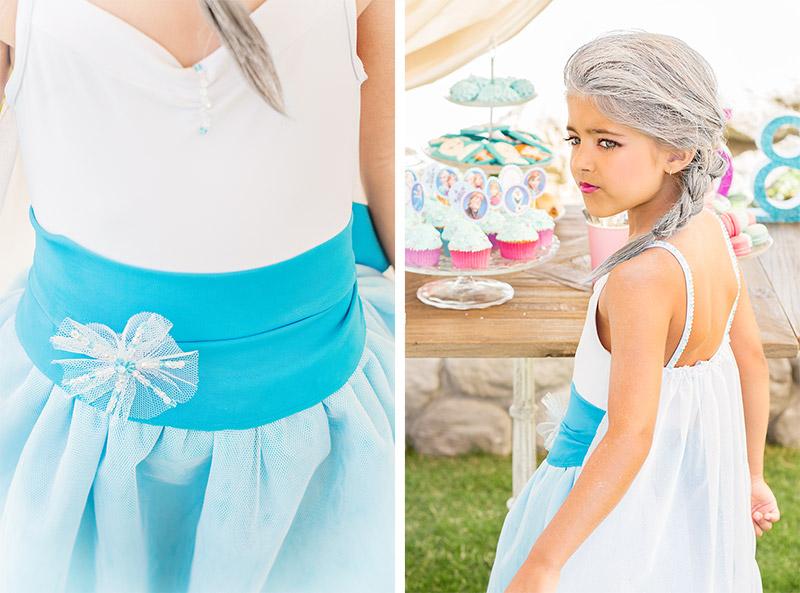 Disfraz Elsa Frozen paso a paso