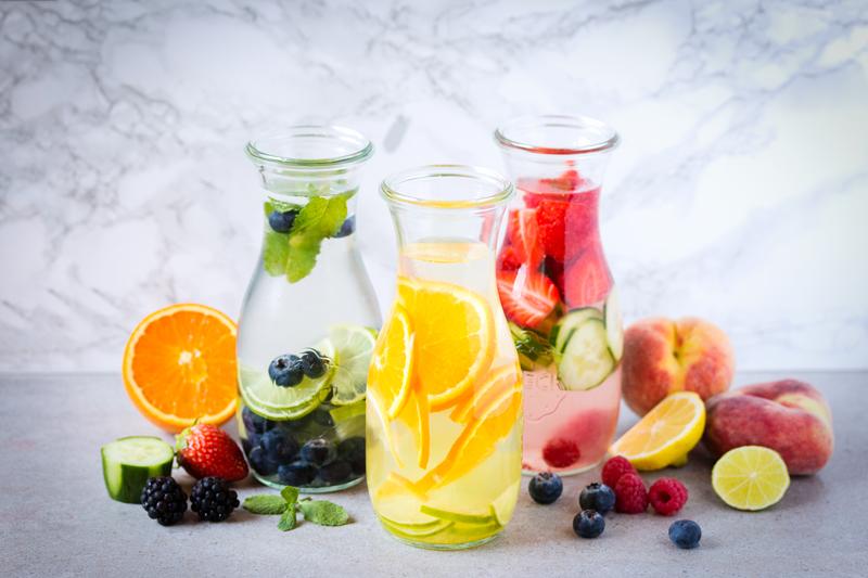 agua de frutas