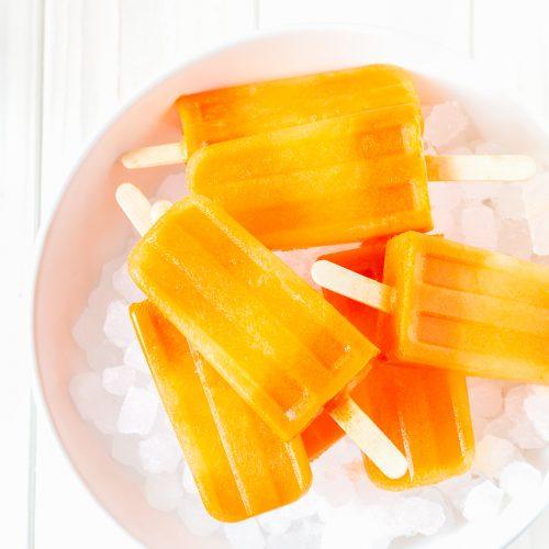 Polos de zanahoria y jengibre