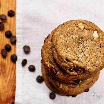 Cookies de mantequilla marrón y melaza