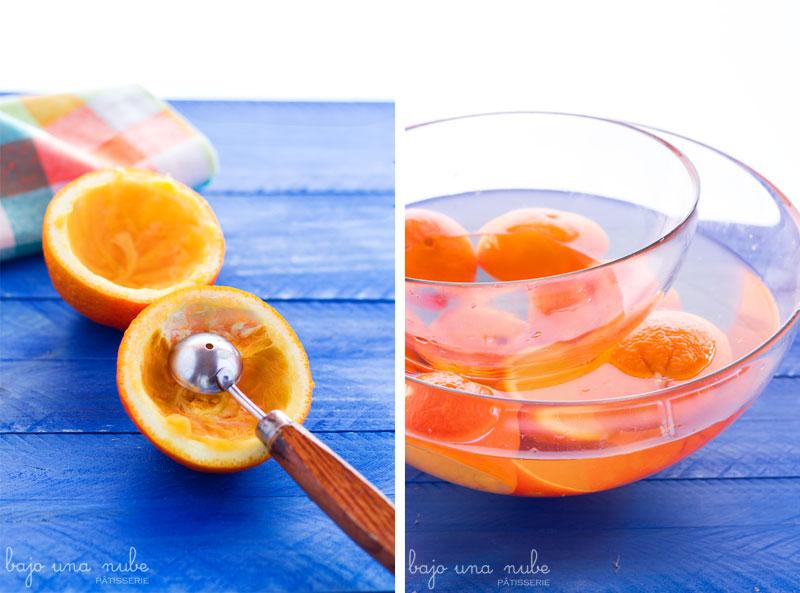 receta de naranja para la cara